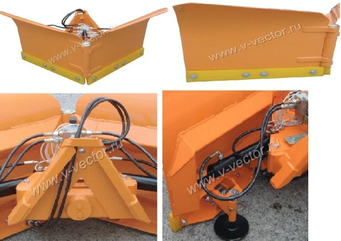 hydromann, плуг-отвал: Vario 1,4 м, Vario 1,55 м, Vario 1,75 м, Vario 2,10 м.