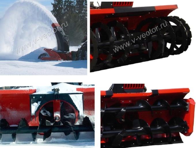 Новое поступление техники hydromann, снегоотбрасыватель